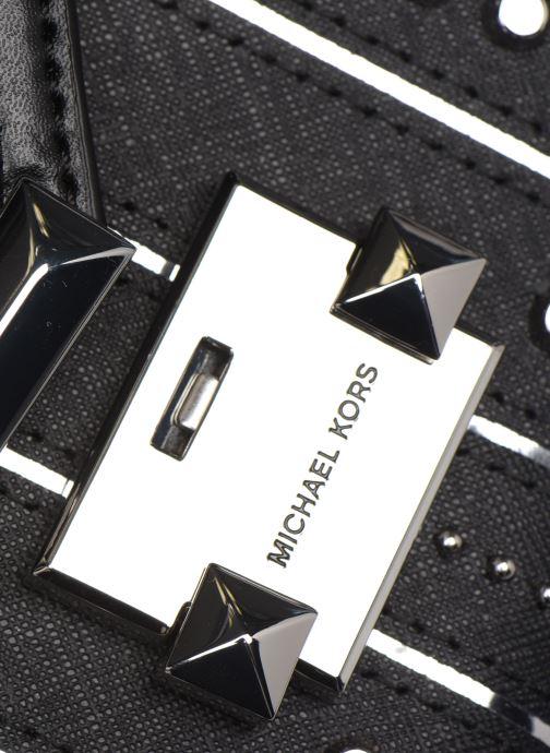 Borse Michael Michael Kors Whitney LG Shoulder Nero immagine sinistra