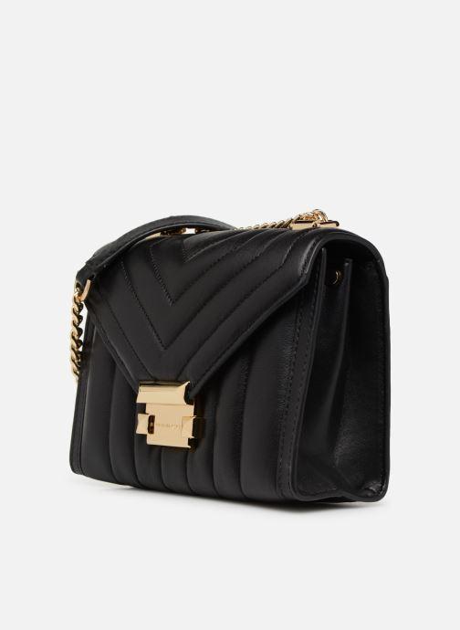 Handtassen Michael Michael Kors Whitney SM Shoulder Zwart model
