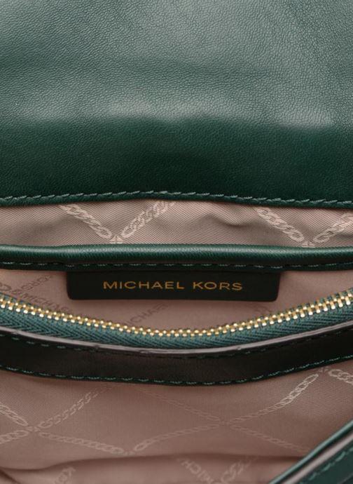 Sacs à main Michael Michael Kors Whitney SM Shoulder Vert vue derrière