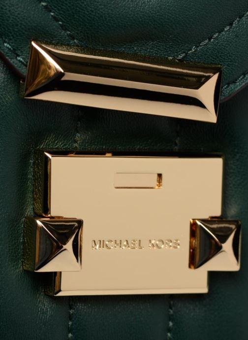 Sacs à main Michael Michael Kors Whitney SM Shoulder Vert vue gauche