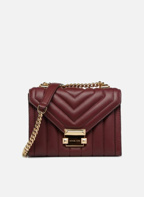 Sacs à main Michael Michael Kors Whitney SM Shoulder Bordeaux vue détail/paire
