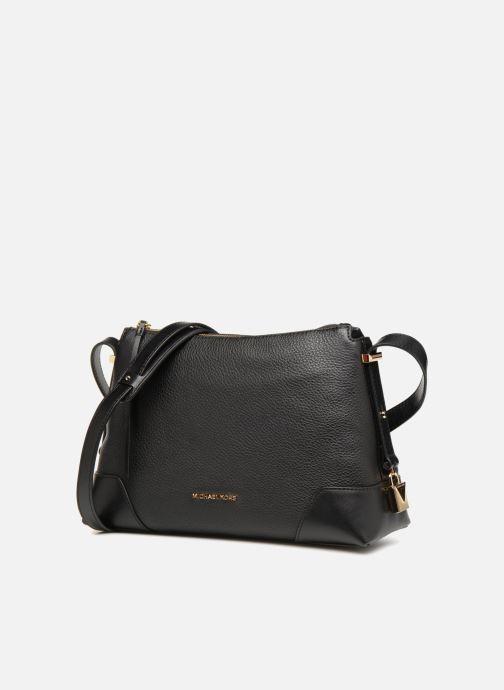 Handtassen Michael Michael Kors Crossby MD Messenger Zwart model