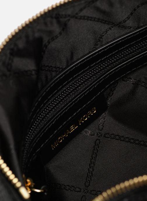 Handtassen Michael Michael Kors Crossby MD Messenger Zwart achterkant