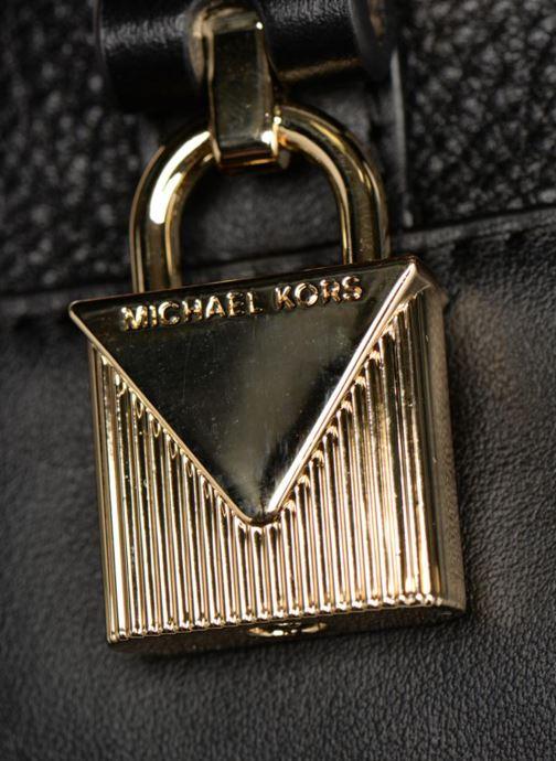Sacs à main Michael Michael Kors Crossby MD Messenger Noir vue gauche