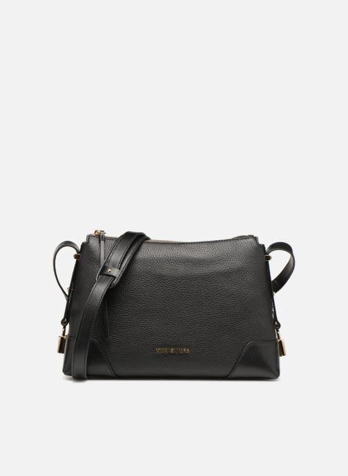 2088924dcb829 Handtaschen Michael Michael Kors Crossby MD Messenger schwarz detaillierte  ansicht modell