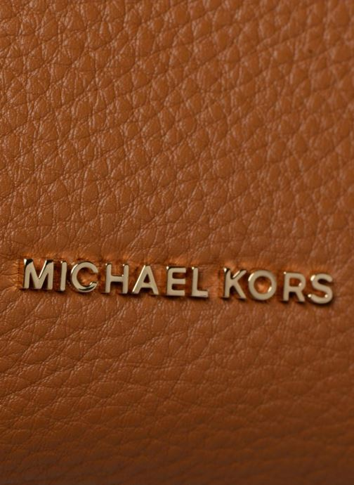 Handtassen Michael Michael Kors Crossby MD Messenger Bruin links