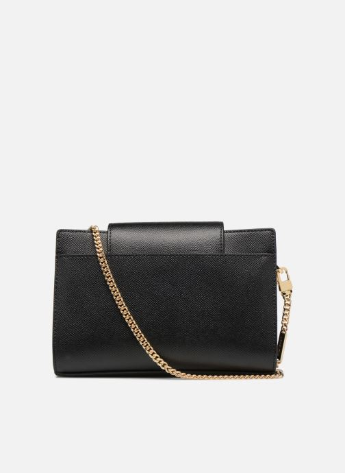 Sacs à main Michael Michael Kors MD Convertible Crossbody Clutch Noir vue face