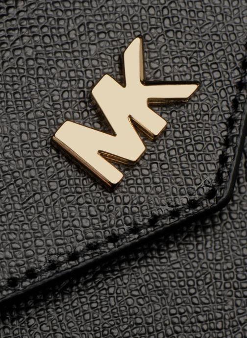Sacs à main Michael Michael Kors MD Convertible Crossbody Clutch Noir vue gauche