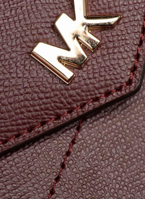 Sacs à main Michael Michael Kors MD Convertible Crossbody Clutch Bordeaux vue gauche