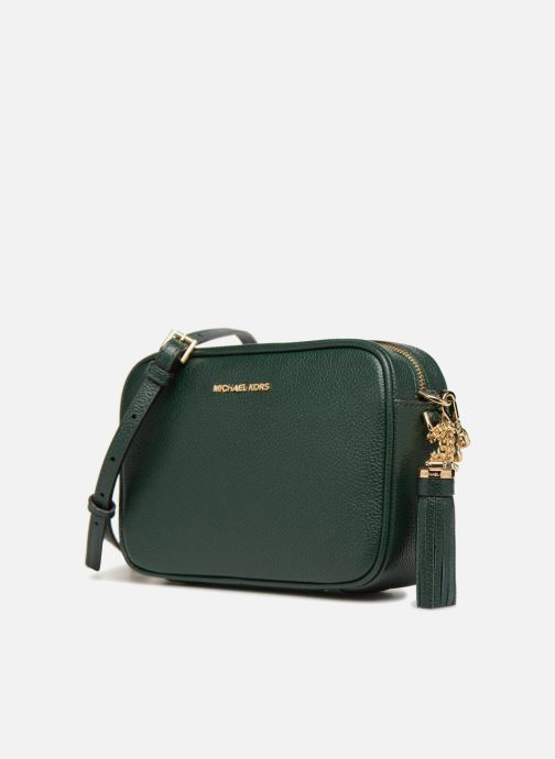 Bolsos de mano Michael Michael Kors MD Camera Bag Crossbody Verde vista del modelo