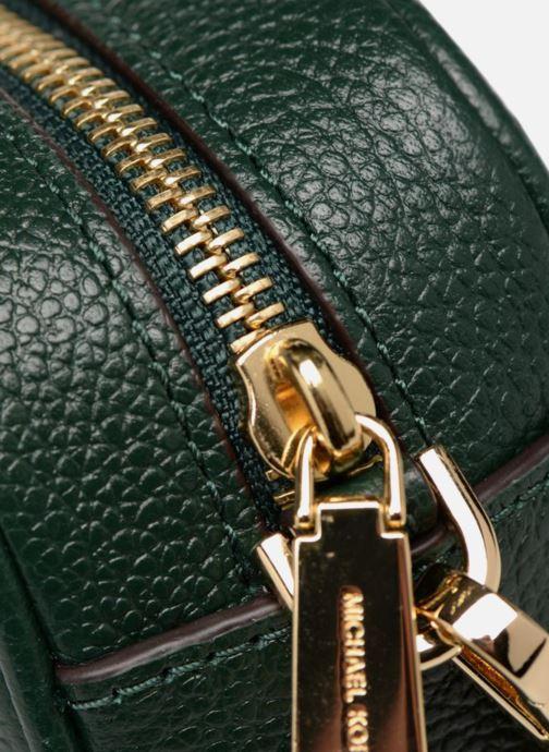 Bolsos de mano Michael Michael Kors MD Camera Bag Crossbody Verde vista lateral izquierda
