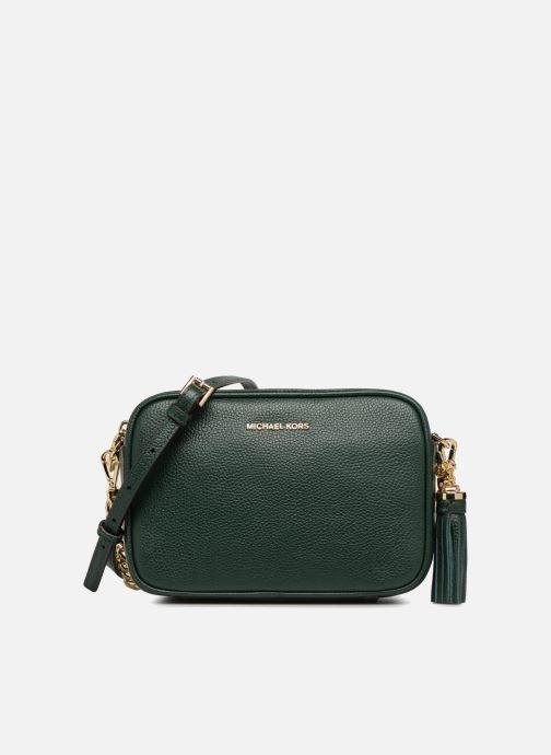 Bolsos de mano Michael Michael Kors MD Camera Bag Crossbody Verde vista de detalle / par