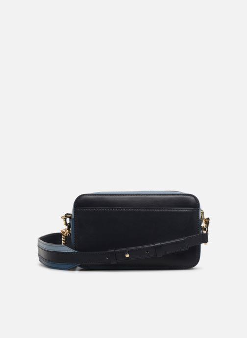 Handtassen Michael Michael Kors SM Pocket Camera Bag Blauw voorkant