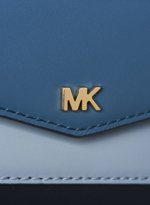 Sacs à main Michael Michael Kors SM Pocket Camera Bag Bleu vue gauche