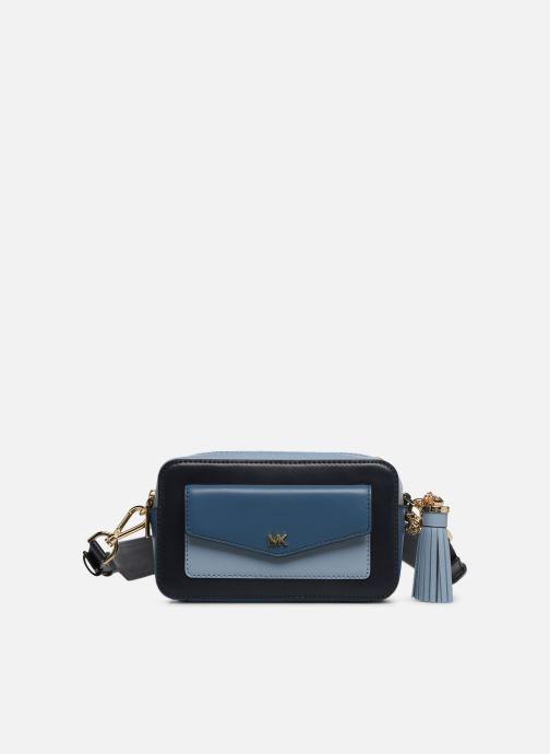 Handväskor Michael Michael Kors SM Pocket Camera Bag Blå detaljerad bild på paret