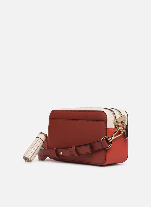 Handtassen Michael Michael Kors SM Pocket Camera Bag Rood rechts