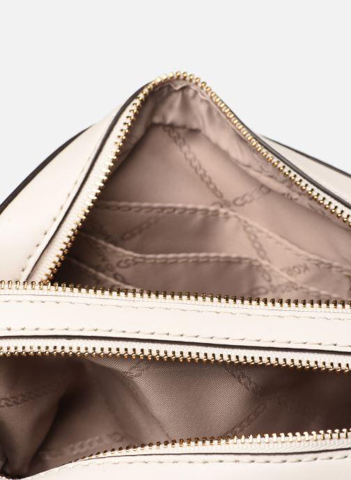 Handtassen Michael Michael Kors SM Pocket Camera Bag Rood achterkant