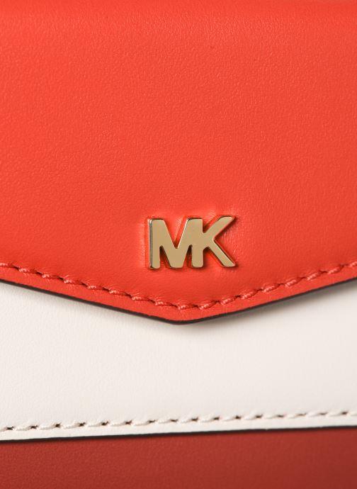 Handväskor Michael Michael Kors SM Pocket Camera Bag Röd bild från vänster sidan