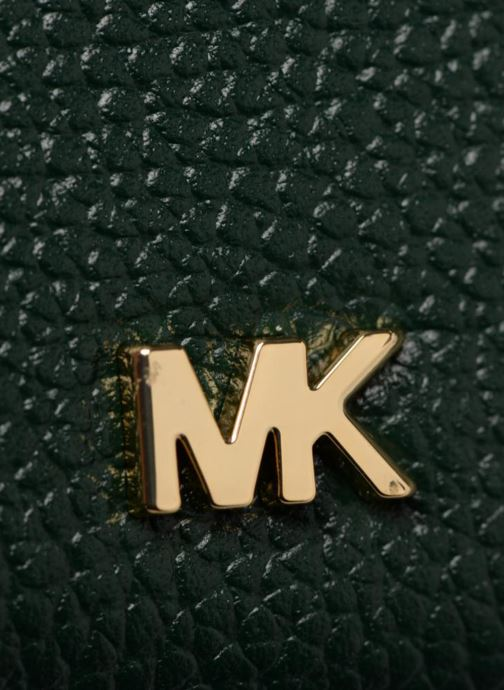 Petite Maroquinerie Michael Michael Kors ZA Coin Card Case Vert vue gauche