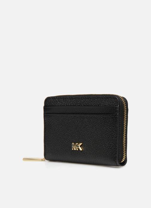 Petite Maroquinerie Michael Michael Kors ZA Coin Card Case Noir vue portées chaussures