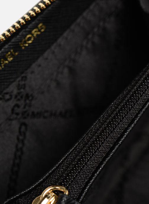 Petite Maroquinerie Michael Michael Kors ZA Coin Card Case Noir vue derrière