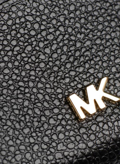 Petite Maroquinerie Michael Michael Kors ZA Coin Card Case Noir vue gauche