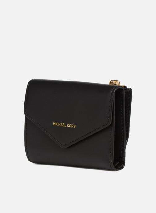 Petite Maroquinerie Michael Michael Kors Blakely SM Card Wallet Noir vue portées chaussures