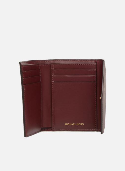 Petite Maroquinerie Michael Michael Kors Blakely SM Card Wallet Bordeaux vue derrière
