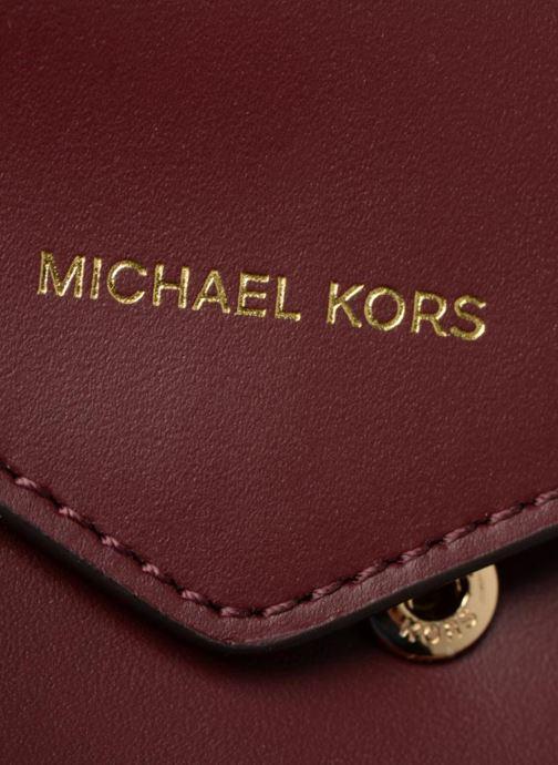 Petite Maroquinerie Michael Michael Kors Blakely SM Card Wallet Bordeaux vue gauche