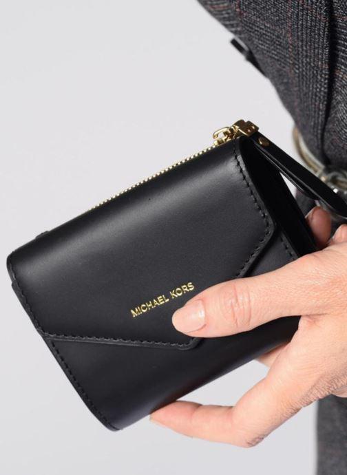 Petite Maroquinerie Michael Michael Kors Blakely SM Card Wallet Bordeaux vue bas / vue portée sac
