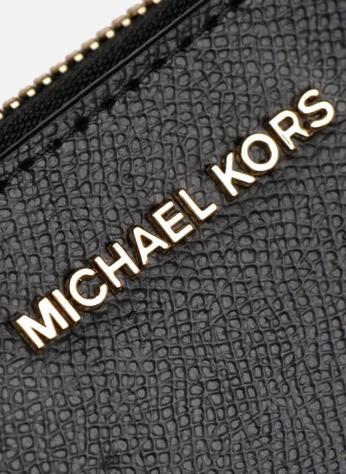 Petite Maroquinerie Michael Michael Kors Wrislet LG Coin MF Phone Case Noir vue gauche