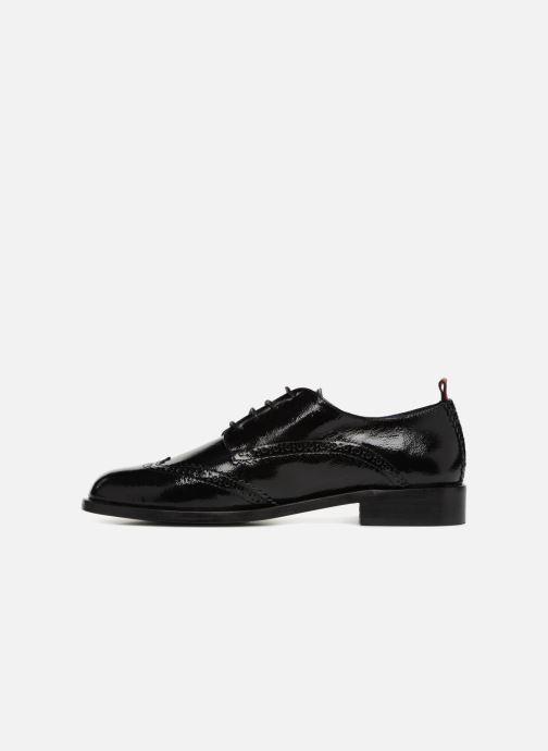 Zapatos con cordones Anaki Twiggy Negro vista de frente