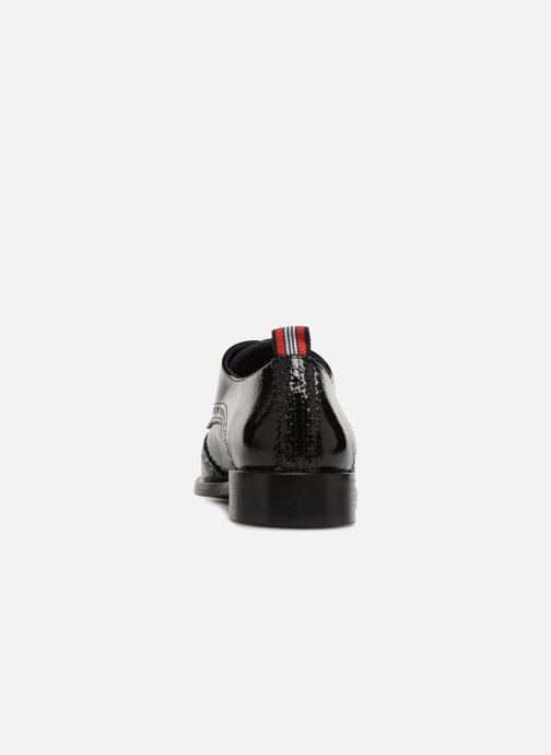 Zapatos con cordones Anaki Twiggy Negro vista lateral derecha