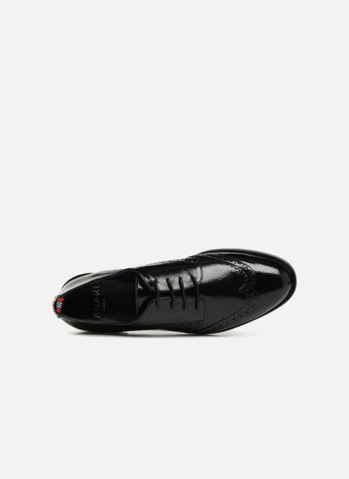 Zapatos con cordones Anaki Twiggy Negro vista lateral izquierda
