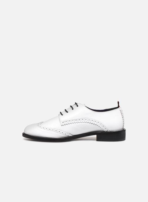 Zapatos con cordones Anaki Twiggy Blanco vista de frente