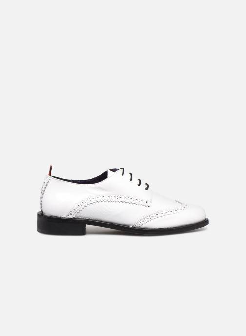Zapatos con cordones Anaki Twiggy Blanco vistra trasera