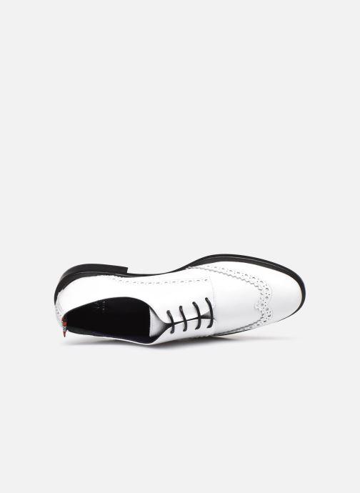 Scarpe con lacci Anaki Twiggy Bianco immagine sinistra