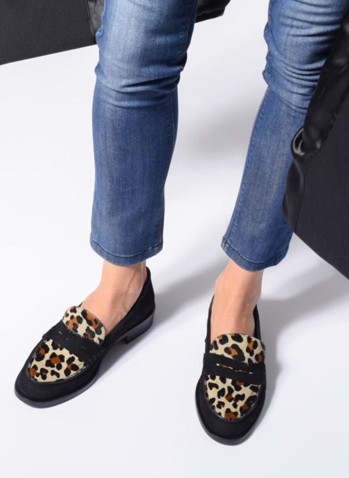 Loafers Anaki Covent Black view from underneath / model view