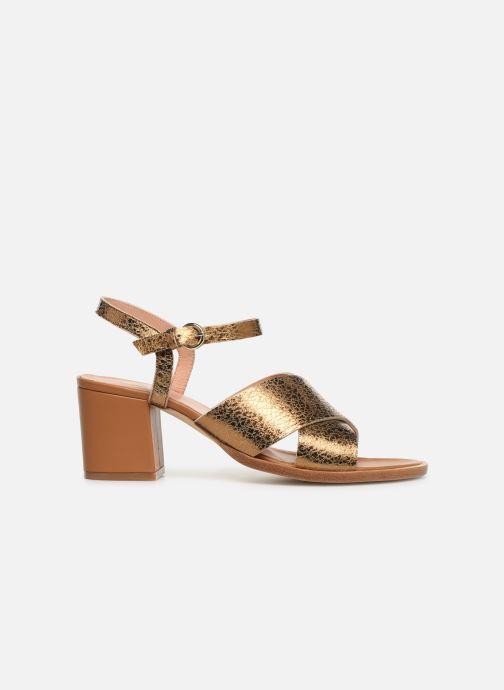Sandaler Craie INFINITY TALON Guld og bronze se bagfra