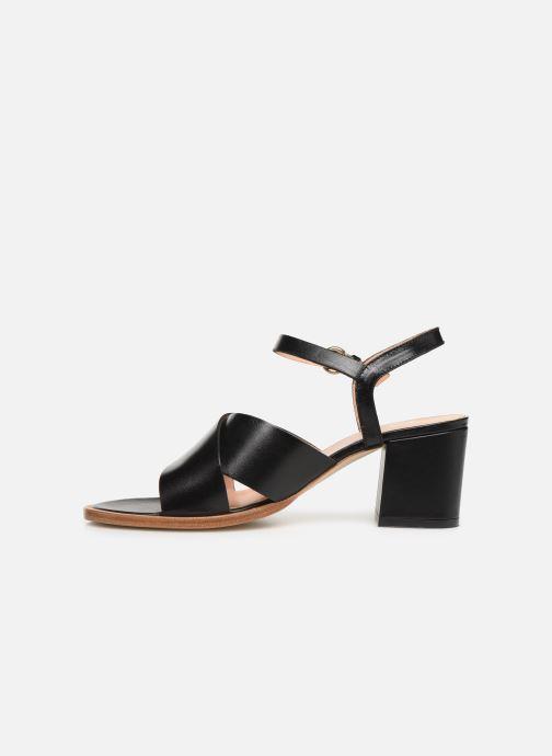 Sandales et nu-pieds Craie INFINITY TALON Noir vue face