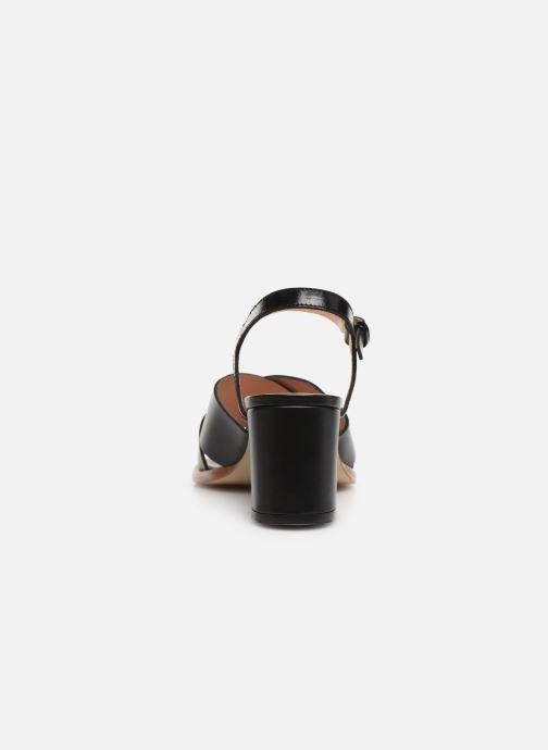 Sandales et nu-pieds Craie INFINITY TALON Noir vue droite