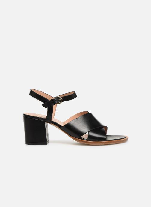 Sandales et nu-pieds Craie INFINITY TALON Noir vue derrière