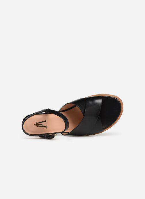 Sandales et nu-pieds Craie INFINITY TALON Noir vue gauche