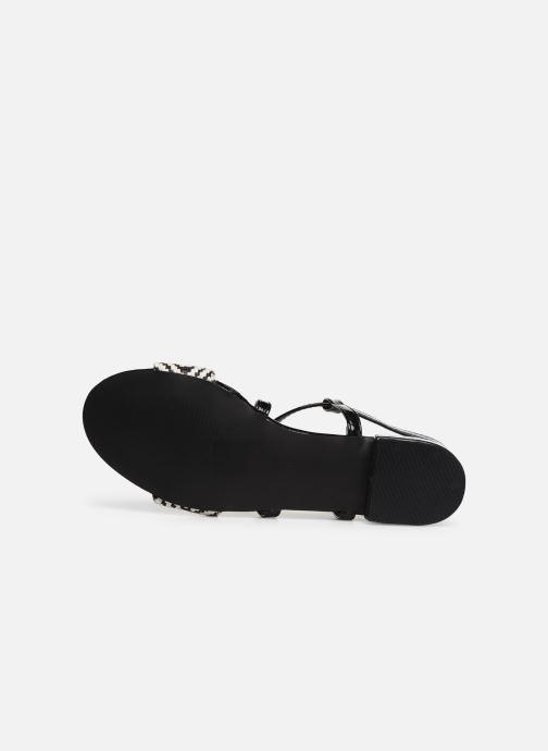 Sandales et nu-pieds I Love Shoes CAITLIN Noir vue haut