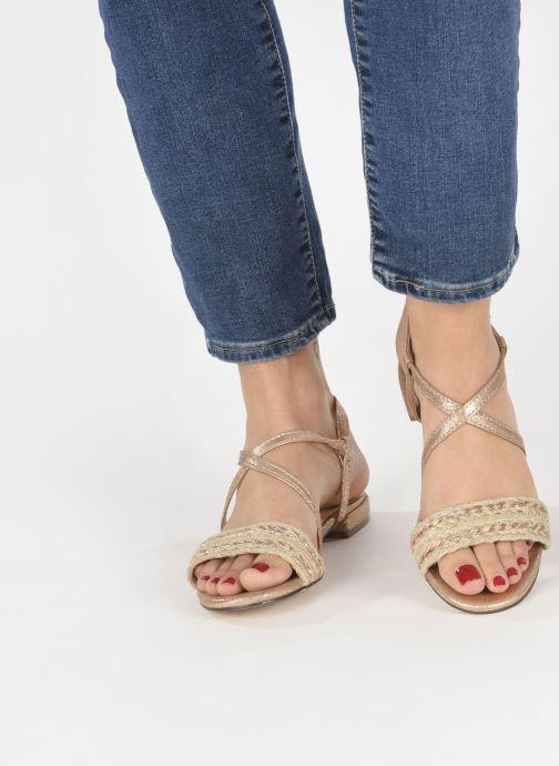 Sandales et nu-pieds I Love Shoes CAITLIN Rose vue bas / vue portée sac