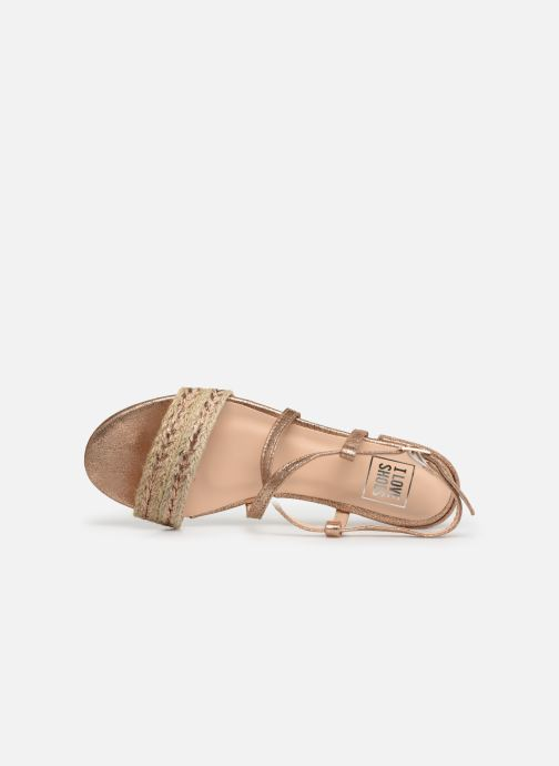 Sandales et nu-pieds I Love Shoes CAITLIN Rose vue gauche
