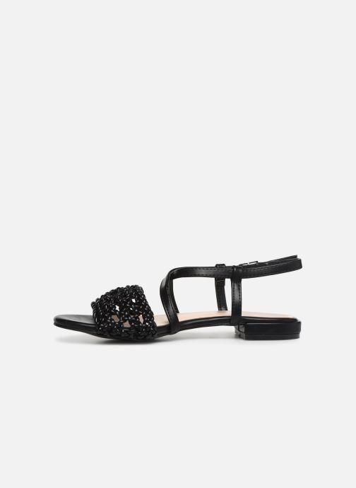 Sandales et nu-pieds I Love Shoes CAITLIN Noir vue face