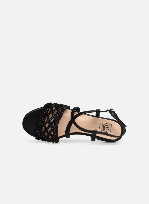 Sandalias I Love Shoes CAITLIN Negro vista lateral izquierda