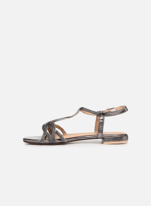Sandales et nu-pieds I Love Shoes CALANDRA Argent vue face