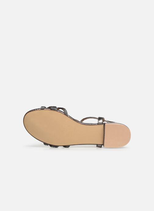 Sandales et nu-pieds I Love Shoes CALANDRA Argent vue haut